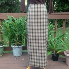 """Vintage Maxi Skirt  This skirt is a great addition to your fall wardrobe. Length is 35.75"""".  The skirt is lined, has a long pleat in the back, and is machine washable. There is a loose stitch in the front dart, barely noticeable, see 3rd pic. Nine & Company Skirts Maxi"""