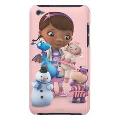 Doc McStuffins and Her Animal Friends iPod Touch Case