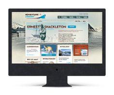 Identity Adventure Cruises  (The Ad Agency, www.theadagency.nl) #identity #theadagency #logo #web