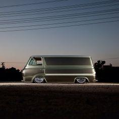 Coby Gewertz' 63 Econoline Van