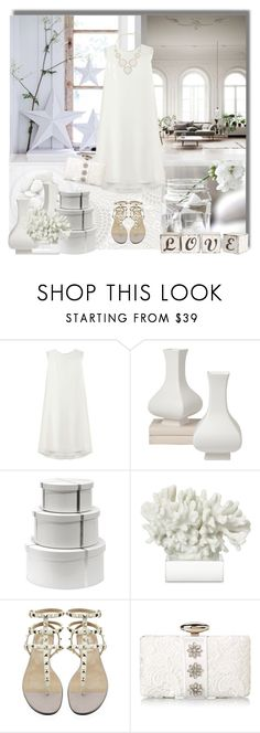"""""""Summer White out"""" by suzanne228 ❤ liked on Polyvore featuring Chanel, Mulberry, Bungalow 5, Williams-Sonoma, Valentino, Mary Frances Accessories and Kendra Scott"""