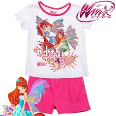 Детска пижама Winx Club Winx Club, Kids Outfits, Onesies, Baby, Clothes, Fashion, Outfits, Moda, Clothing