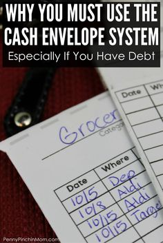 You Must Start Using The Cash Budget Method How to use the cash envelope system and why you must use this if you are trying to get out of debt via Tries may refer to: Budgeting Finances, Budgeting Tips, Ways To Save Money, Money Saving Tips, Money Tips, Cash Envelope System, Commercial, Living On A Budget, Frugal Living