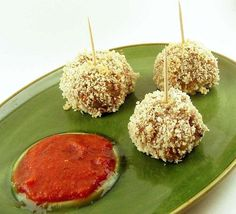 Appetizers Recipes: Chicken Parm Bites Stuffed with Mozzarella
