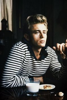 James Dean, it amazes me how much James Franco looks alike.