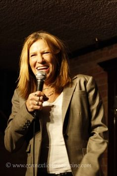 Comedian Michele Balan Performs at Wise Guys in Syracuse, NY 2012