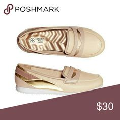 Metallic Loafers Discounted price only when you order from my website! Youravon.com/jcaldwell6341 *Search product name in the search bar. cushion walk Shoes Flats & Loafers