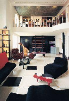 Gaetano Pesce, Marc-Andre Apartment, 1985