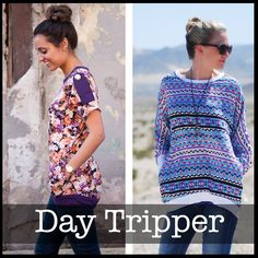 Day Tripper Top — ShwinDesigns
