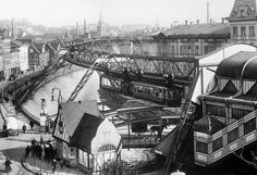 The German town of Wuppertal is home to a unique suspension railway that dates back to 1901. The Schwebebahn is still operational today, 114 years later.