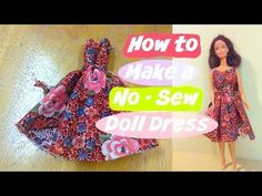 DIY Barbie Doll Bat Wing Sleeve Dress!!! Hello fellas! A quick brake to Halloween tutorial, now we are moving on with the Barbie doll clothes tutorial videos...