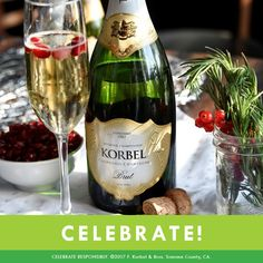 Grab a bottle of KORBEL for your upcoming holiday party and bring some magic to the celebration. KORBEL is the perfect gift for any host looking to add a little sparkle to the festivities!