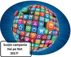 """""""UN  COPIL ...  UN DESTIN !""""       2010 - 2016: GOW2017 – Campania Hai pe Net 2017"""