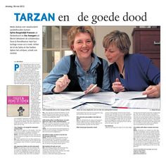 Artikel over Passie & Piemelbloemen in Dagblad De Limburger.