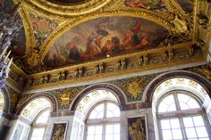 Inside Castles, Palace Of Versailles, Paris, Photo And Video, World, Building, Travel, Painting, Palaces