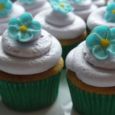 Green Tea Cupcakes Recipe - RecipeChart.com #Dessert #Snack