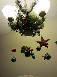 Christmas chandelier ideas
