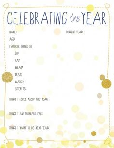 8 ideas for Celebrating New Year's Eve with kids!   Rockabye Mommy
