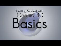 Basics - Getting started with Cinema 4D