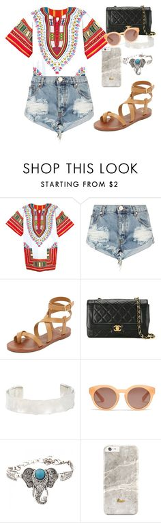 """Untitled #1698"" by danielasilva12 ❤ liked on Polyvore featuring One Teaspoon, Tory Burch, Chanel, Jennifer Fisher and Madewell"