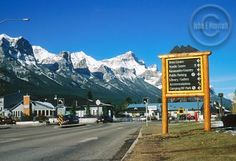 The town of Canmore represents myself because I now live in Canmore and it has made me a different person from when I lived in Oakville, Ontario