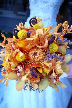 Under the Sea Bouquet by Monday Morning Flower and Balloon Co, via Flickr