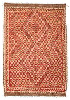 Kelim Afghan Old style Teppich 149x208