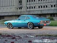 1972 Ford Maverick Side