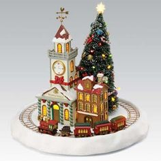winter wonderland lighted structure village christmas by mr christmas 36731 indoor lighted christmas animated christmas decorations - Animated Christmas Decorations Indoor
