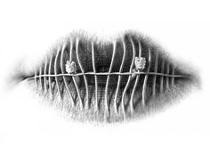 Surreal Lips: Illustrations by Christo Dagorov