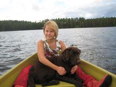 Veneessä elokuussa 2009.