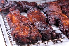 Smoked pork country style ribs are a really great option when you are trying to get food from the smoker to the table in a relatively short period of time.