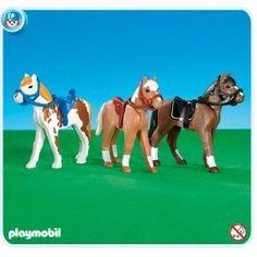 Playmobil 3 Horses ($22.99)