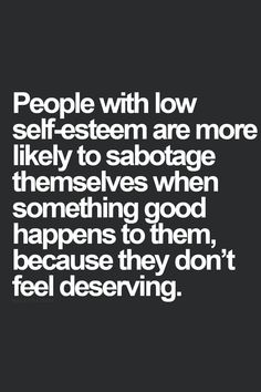 Stop Self-Sabotage! People living with guilt will sabotage their future and their happiness continually because they feel that they don't deserve anything good in life. Great Quotes, Quotes To Live By, Me Quotes, Motivational Quotes, Inspirational Quotes, Friend Quotes, Qoutes, Lgbt Quotes, Peace Quotes