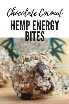 Sink your teeth into a 130 calorie Hemp Seed Energy Bites made with creamy peanut butter, chocolate and oats. These nutritious snacks are packed with protein and omegas a healthy refuel snack! Healthy Sweets, Healthy Baking, Healthy Snacks, Camping Food Healthy, Nutritious Snacks, Kid Snacks, Healthy Breakfasts, Yummy Snacks, Eating Healthy