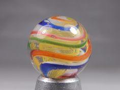 """Vintage Antique German Swirl Marble 9/16"""""""