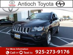 2014 *Jeep*  *Compass* *Sport* Call for Price  miles 925-273-9176 Transmission: Automatic  #Jeep #Compass #used #cars #AntiochToyota #Antioch #CA #tapcars