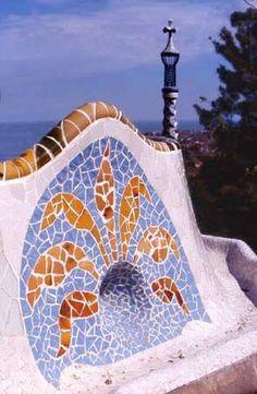 Barcelone Antoni Gaudi - Parc Güell - Catalonia