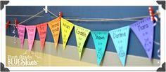 Meet the Teacher {FREEBIE} for Back to School - First Grade Blue Skies