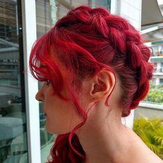 Top 100 princess hairstyles photos Cabelo (cor e penteado) de princesa feito pela nossa super top profissional @malualvesbeleza  #beleza #ipanema #cabeleireiro  #cabeleireirosrj #ruivo #cabelovermelho #cabelodeprincesa #trancas #penteado #penteados #redhair #princesshair #princesshairstyles See more http://wumann.com/top-100-princess-hairstyles-photos/