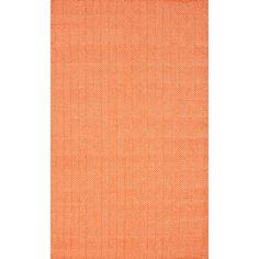 Found it at Wayfair - Bivouc Orange Mathew Indoor/Outdoor Area Rug