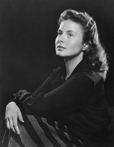 Ingrid Bergman. No make up, no pretense, just awesome.