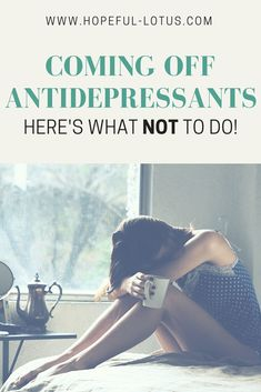 9 Best Antidepressant Withdrawal: It's real and it's ugly images in