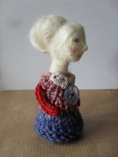 needle-felted Nell