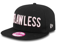 Flawless Slogan Womens 9Fifty Snapback Cap by NEW ERA