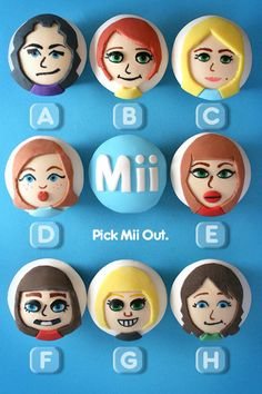 Wii Cupcakes!