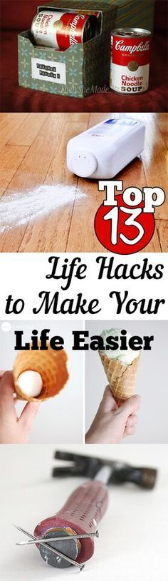 Top 13 Life Hacks to Make Your Life Easier