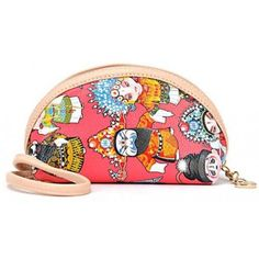 Indressme | Pink PU mini cartoon bag style 00-08006 only $15.50 .
