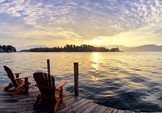 One of my favorite places Lake George Ny, Hampton Inn, Lake Cabins, Dusk, The Hamptons, Sunset, Country, Places, Calm