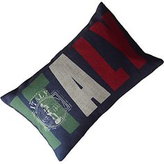 Italy Style Cotton/Linen Decorative Pillow Cover – AUD $ 15.34 ITALY
